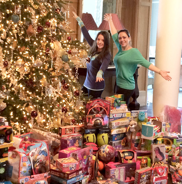 Before getting to work, LCE's Maggie Dunne and Nora Steinman present the Steinman Family toy haul!