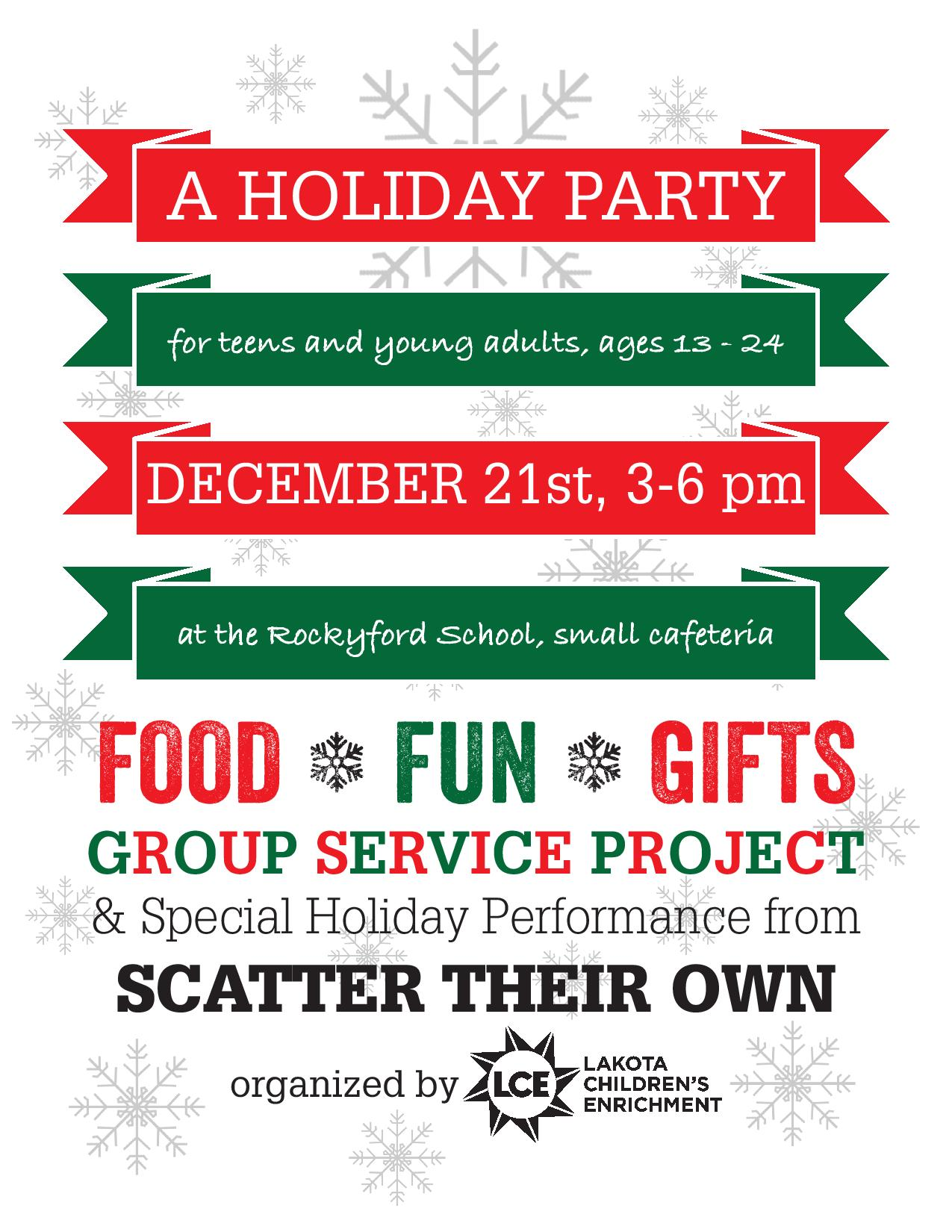 holiday party flyers printable christmas party flyer templates ...